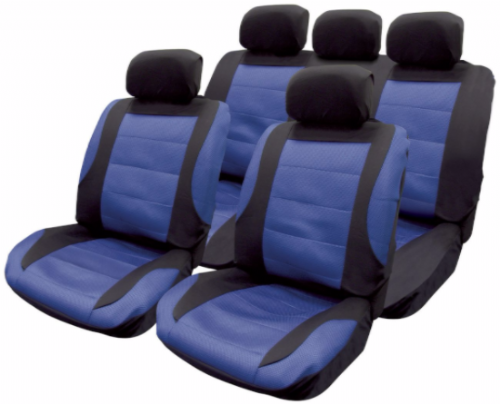 Full set seat covers blue